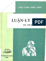 (1966) Luận Lý Học - Trần Văn Hiển Minh