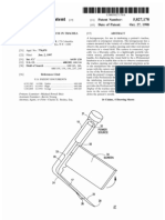 Laryngoscope for use in trachea intubation (US patent 5827178)