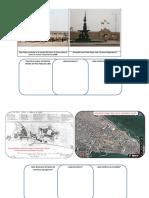 Plano Que Manifiesta El Estado en Que Se Hallaba El Fuerte El Real Felipe Situado en El Puerto Del Callao a La Llegada Del Eximo
