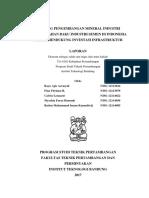 Peluang Pengembangan Mineral Industri