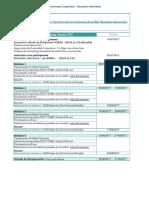 Cronograma UC Hispana