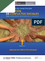 Resolucion de Conflictos Sociales congreso de la republica