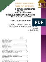 resumen farmacología pediatrica