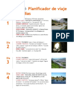 Itinerario Pucallpa