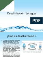 Desalinización Del Agua