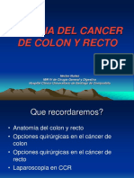 Cirugia de cáncer colorectal