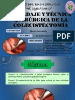 9. Abordaje y Técnica Quirúrgica de La Colecistectomía