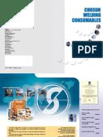 CHOSUN Welding Catalogue