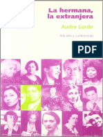 Audre Lorde - La Hermana, La Extranjera