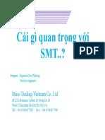 Giới Thiệu Chung Về SMT