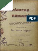 Dagnino, V., Cronicas Ariqueñas 1910
