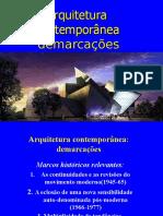 Arquitetura contemporânea.ppt