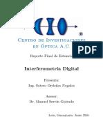 Interferometría digital