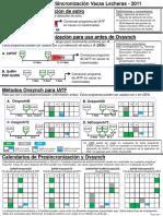 Dairy Cow Synchronization Protocols 2011 - Spanish