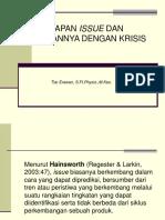 4. Manajemen Issue Hub Dg Krisis TR.3
