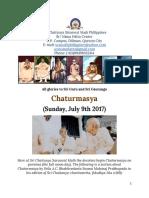 Chaturmasya