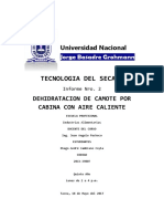 2do LAB Secado de Camote