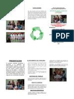 Trictico Del Reciclaje