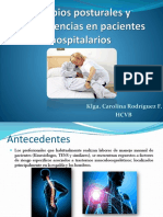 Movilización y Transferencias en Pacientes Hospitalarios
