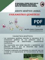 5.1 Parametros Geneticos