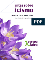 Apuntes Sobre Laicismo II Etica Laica