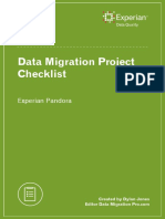 Datamigration Checklist