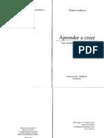 Ardusso, F., Aprender a Creer, Pp. 23-48