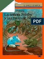 [El Barco de Vapor] [Serie Naranja 82] OBrien, Robert C. - La Senora Frisby y Las Ratas de NIMH [14959] (r1.0)