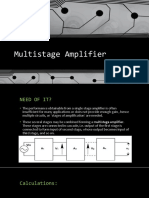 Multistage Amplifier