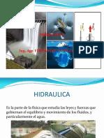 Hidraulica Castillo -Clases y Tarea Hoy