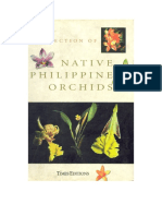 A Selection of Native Philippine Orchids