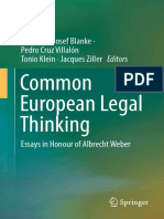 Hermann-Josef Blanke, Pedro Cruz Villalón, Tonio Klein, Jacques Ziller (Eds.)-Common European Legal Thinking_ Essays in Honour of Albrecht Weber-Springer International Publishing (2015)