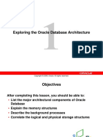 The Oracle Database Architecture