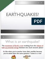 Earthquake Notes PDF