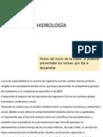 2017-1 Hidrologia Semana 02 Cuencas