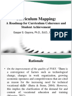 Curriculum Mapping-A Roadmap for Curriculum Coherence and Student Achievement