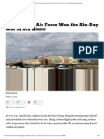 How Israel's Air Force Won the Six-Day War in Six Hours _ the National Interest Blog