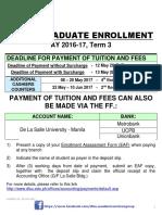 DLSU Enrollment Procedure