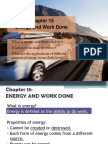 Chapter 15 Energy and Work Done HBL VER