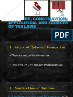 G. Nature, Construction, Application, and Sources of Tax Laws.pptx