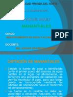 Diapositivas Captacion Manantiales Upn