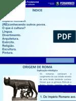 Civilização Romana (Aspectos Culturais)