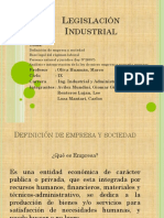 Legislación Industrial