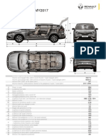 Dimensioni Renault Espace 2017