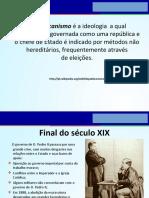 Brasil a República Das Oligarquias