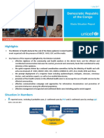 UNICEF DR Congo Ebola Situation Report - July 2017