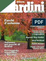Giardini & Ambiente - Settembre-NOVembre 2016