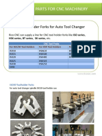 CNC Toolholder Forks for Auto Tool Changer VMCs Tool Magazines