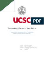 Informe Evaluación de Proyecto Tecnológico