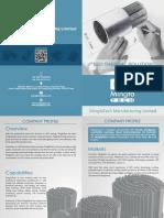 MingfaTech Brochure